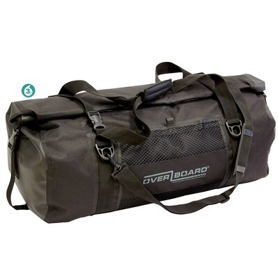Overboard Large Sports Bag in Black