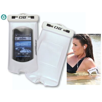 Overboard Pro-Sport Mp3 Case in White