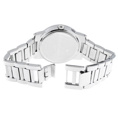 Peugeot Women's Multi Function Swarovski Watch with Crystal Bracelet in Silver