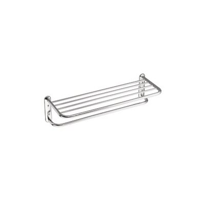 Creative Specialties by Moen Hotel Motel Towel Bar with Shelf