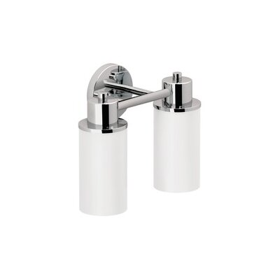 Creative Specialties by Moen Iso 2 Light Bath Vanity Light