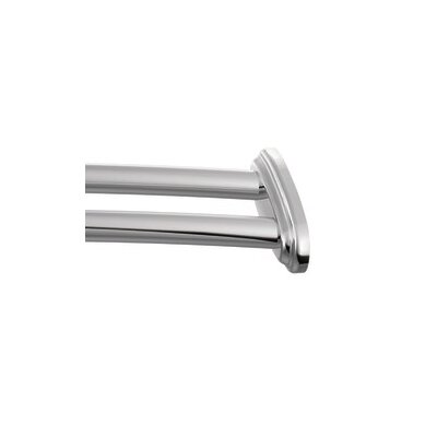 Creative Specialties by Moen Curved Shower Rod