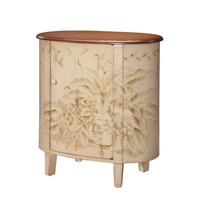 Gail's Accents Shoreline Banana Leaf Commode