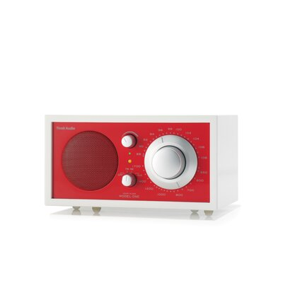 Tivoli Audio LLC Model One Radio in Frost White / Ember Red