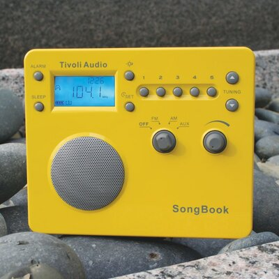 Tivoli Audio LLC SongBook in High Gloss Yellow / Silver