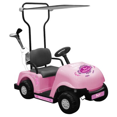 Kidz Motorz Golf Cart 6V Battery Powered Car with Golf Bag and Clubs