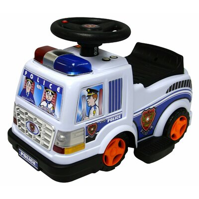 Kidz Motorz Patrol 6V Battery Powered Police Truck