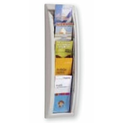 Paperflow 5 Pocket Letter Quick Fit Systems Literature Display