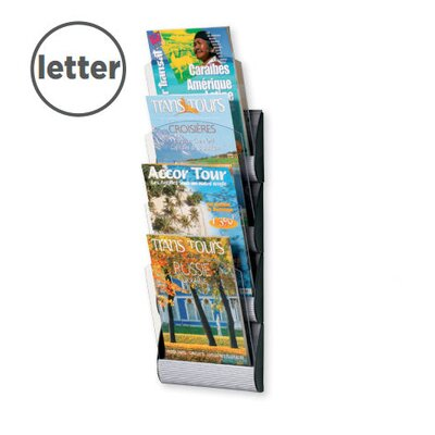 Paperflow Letter Maxi system Wall Literature Display with Four Pockets