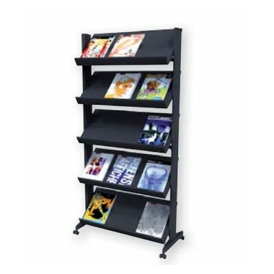 Paperflow X-Large Single Sided Literature Display in Black