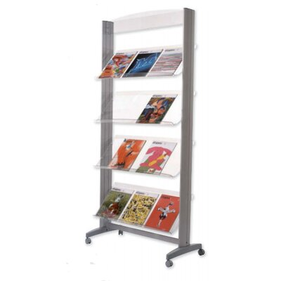 Paperflow X-Large Single Sided  Literature Display in Acrylic