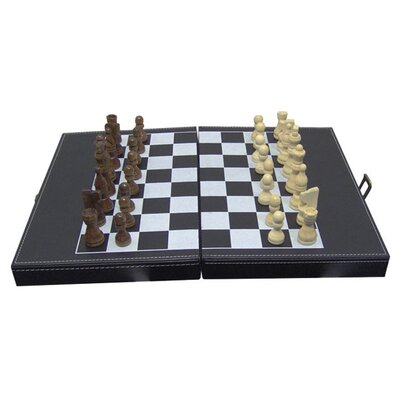 CHH Shut the Box and Chess Set