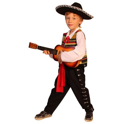 Dress Up America Mexican Mariachi Children's Costume
