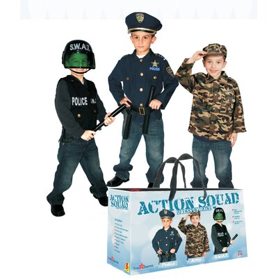 Dress Up America Action Squad Children's Costume