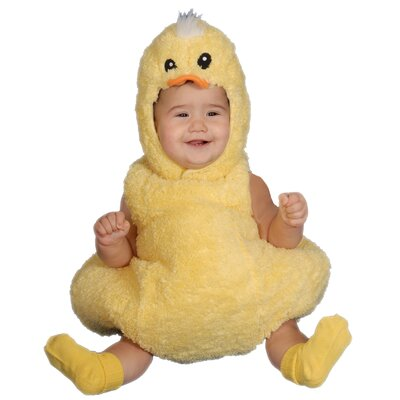 Dress Up America Cute Little Baby Duck Costume Set