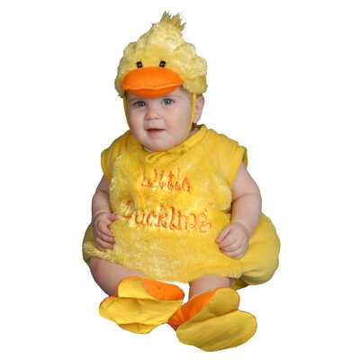 Dress Up America Baby Plush Duckling Costume