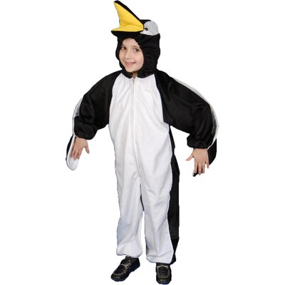 Dress Up America Penguin Plush Children's Costume