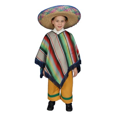 Dress Up America Mexican Boy Children's Costume Set