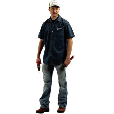 Adult Mike Mechanic Costume