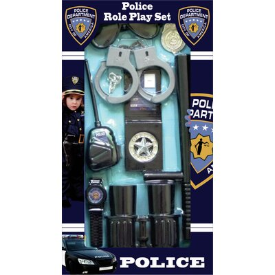 Dress Up America Police Officer Role Play Kit