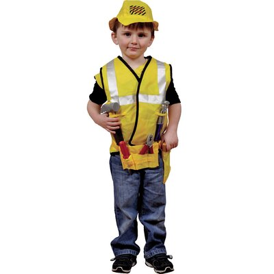 Dress Up America Construction Worker  Role Play Dress Up Set