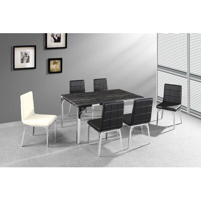 Tip Top Furniture Blake 7 Piece Dining Set