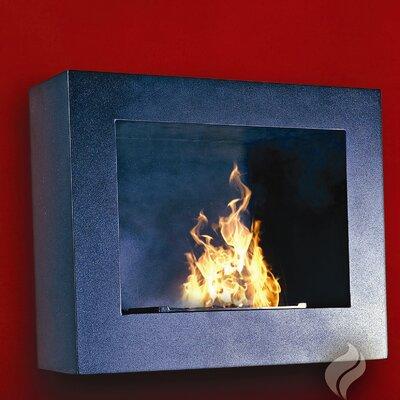 Hestia wall mount gel fuel fireplace wayfair for Wayfair gel fireplace