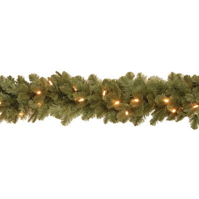 National Tree Co. Noble Deluxe Fir Pre-Lit 6' Garland
