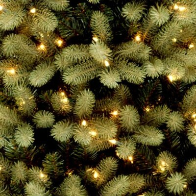 National Tree Co. Douglas Fir 9' Green Evergreen Fir Artificial Christmas Tree with 950 Pre-Lit Clear Lights with Stand
