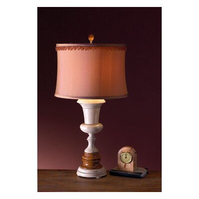 Lex Lighting Amber and Desert Sand Marble Table Lamp