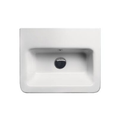 City Modern Rectangular Wall Hung or Self Rimming Bathroom Sink - GSI MCITY8311
