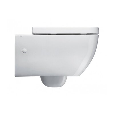 GSI Collection Traccia Contemporary Ceramic Floor Round 1 Piece Toilet