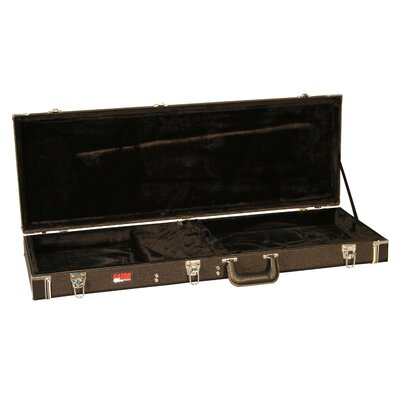 Gator Cases Deluxe Wood Electric Guitar Case in Black