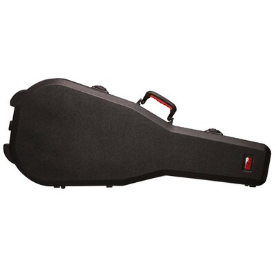 ATA Molded Mil-Grade PE Dreadnought Guitar Case with TSA Latches