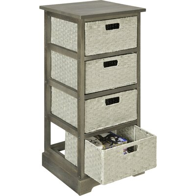 Altra Furniture 4 Drawer Storage Unit