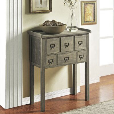 6 Drawer Accent Console Table | Wayfair