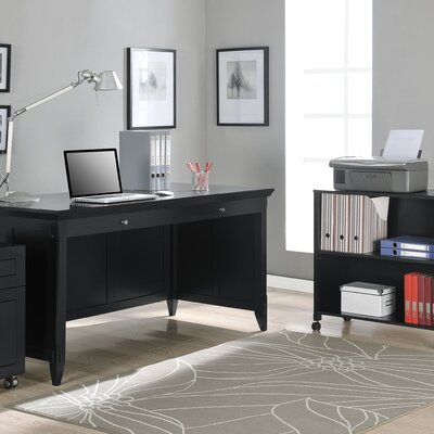 Altra Furniture Amelia Desk with Mobile Storage Cube and File