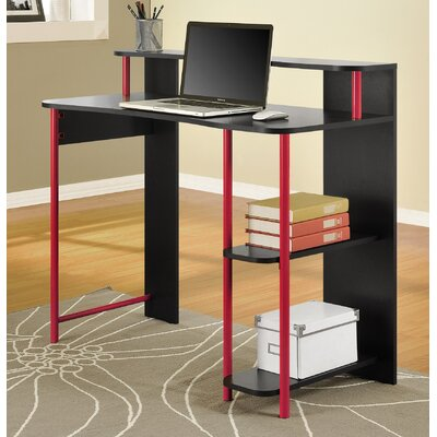 Computer Desk and Bookcase Set