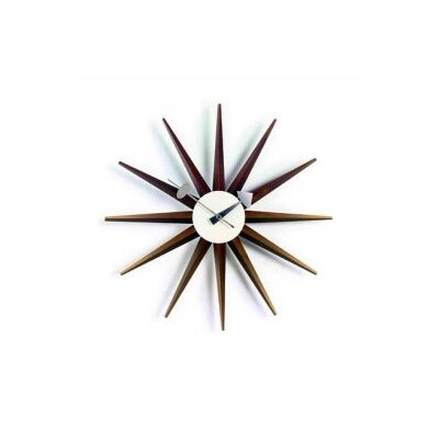 "Vitra Vitra Design Museum 18.5"" Sunburst Wall Clock"