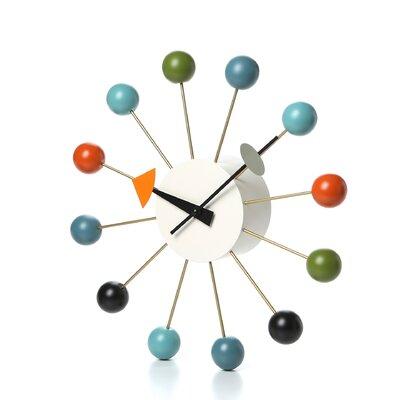 "Vitra Vitra Design Museum 13"" Ball Wall Clock"