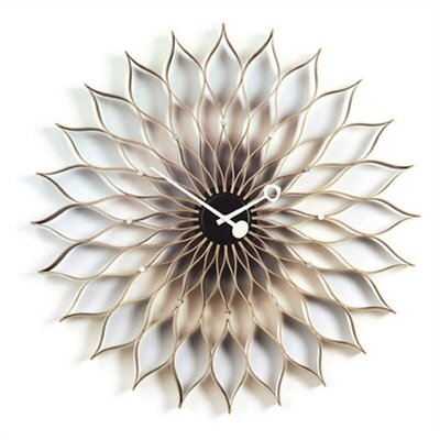 "Vitra Vitra Design Museum Oversized 29.5"" Sunflower Wall Clock"