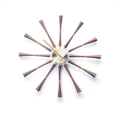 "Vitra Vitra Design Museum 22.64"" Spindle Wall Clock"