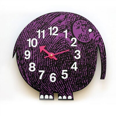 Vitra Zoo Timers Wall Clocks - Elihu the Elephant