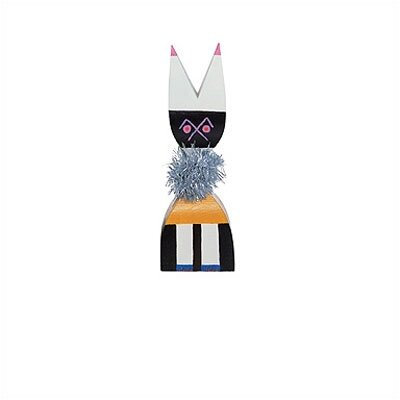 Vitra Design Museum - Wooden Dolls no. 9 by Alexander Girard