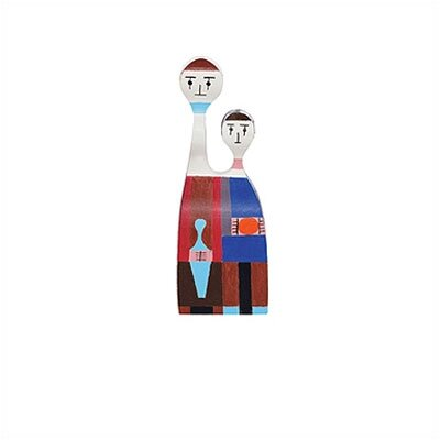 Vitra Vitra Design Museum - Wooden Dolls no. 11 by Alexander Girard
