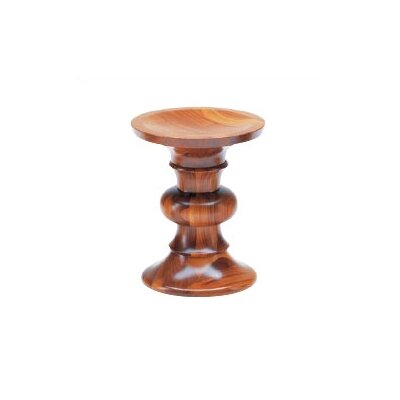 Vitra Miniatures - Model B Walnut Stool by Charles and Ray Eames