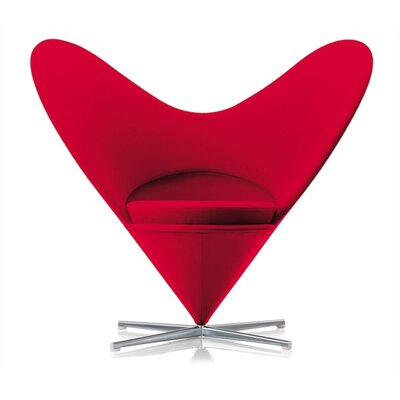 Vitra Heart Cone Side Chair by Verner Panton