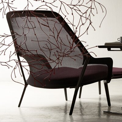 slow chair by ronan and erwan bouroullec wayfair. Black Bedroom Furniture Sets. Home Design Ideas