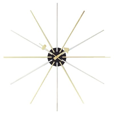 "Vitra Vitra Design Museum Oversized 24"" Star Wall Clock"