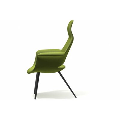 Organic Highback Arm Chair by Charles Eames and Eero Saarinen